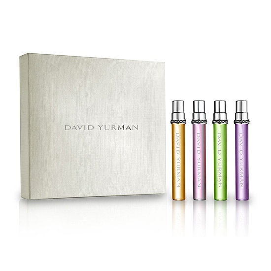 David Yurman is most well-known for his gorgeous jewelry, but after gifting the Limited Edition Essence Collection Quartet ($75), everyone will be talking about his fragrance profile, too.