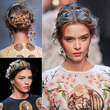 Nicole Warne Dolce & Gabbana Hair How To