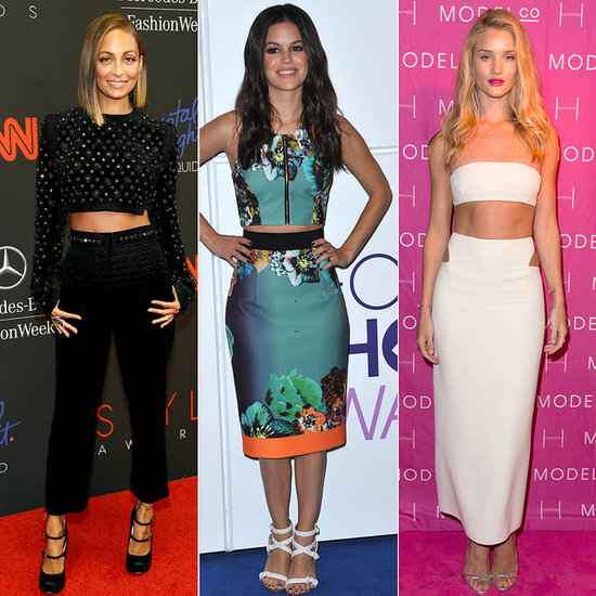 21 Celebrity-Inspired Ways To Wear A Crop Top