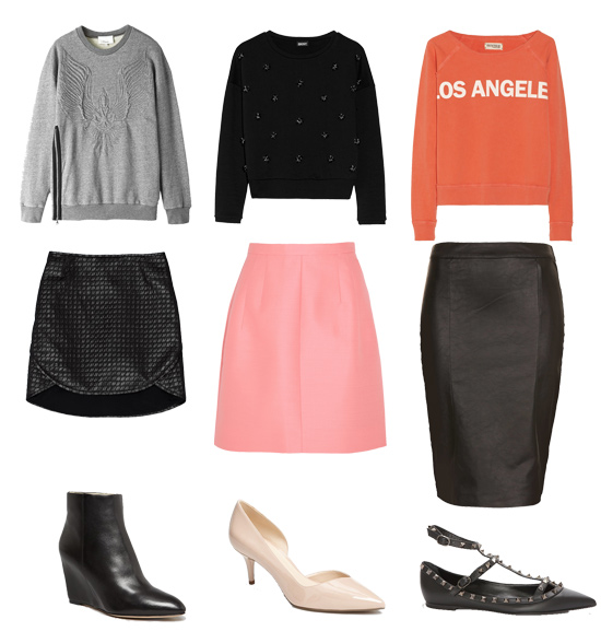 Cute Sweatshirt Outfits | POPSUGAR Fashion