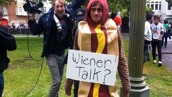 Ready For Some Wiener Talk With an Unhung Hero?