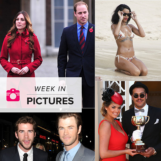 The Week in Pictures: Kate's New Hair, Spring Racing Fever, Rihanna Hits the Beach & More!