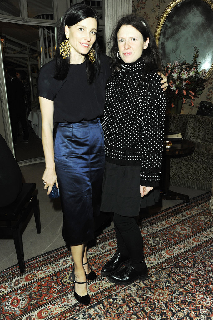 Tabitha Simmons celebrated her TOMS collaboration with stylish guests including Katie Grand.