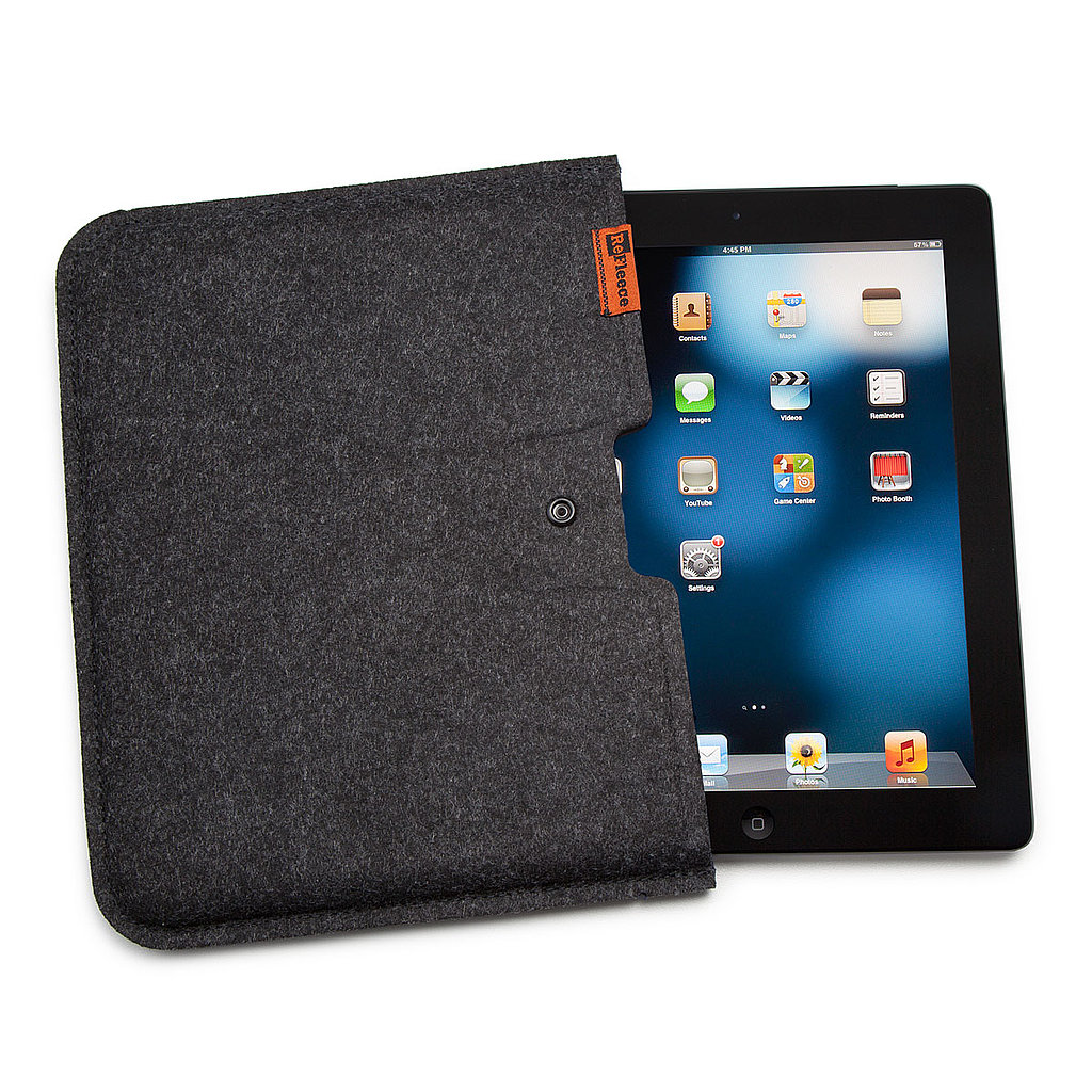 Fleece iPad Cover