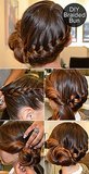 This braided bun tutorial got a lot of action on Pinterest. We'll keep this in our braid board and updo inspiration file.  Source: Salon Mario Russo