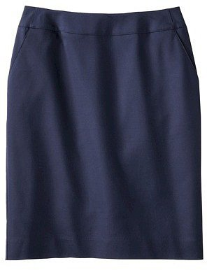 Merona® Women's Doubleweave Pencil Skirt - Solids