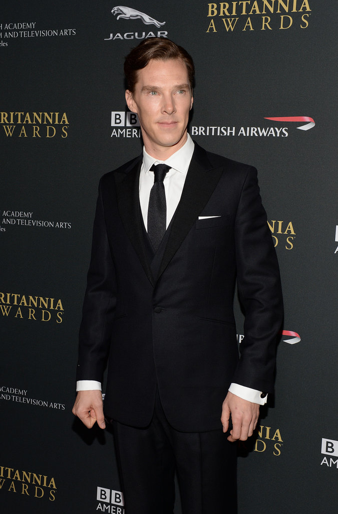 Benedict Cumberbatch hit the red carpet for the BAFTA LA Jaguar Britannia Awards in LA.