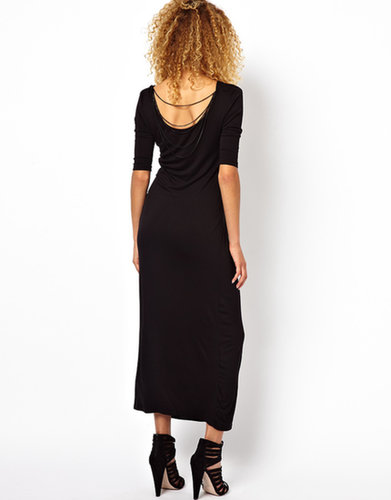 Brave Soul Chain Back Maxi Dress