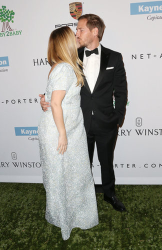 Drew Barrymore Shows Off Her Baby Bump at the Baby2Baby Gala
