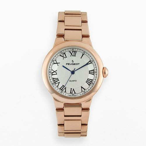 Peugeot rose gold tone watch - 7086rg - women