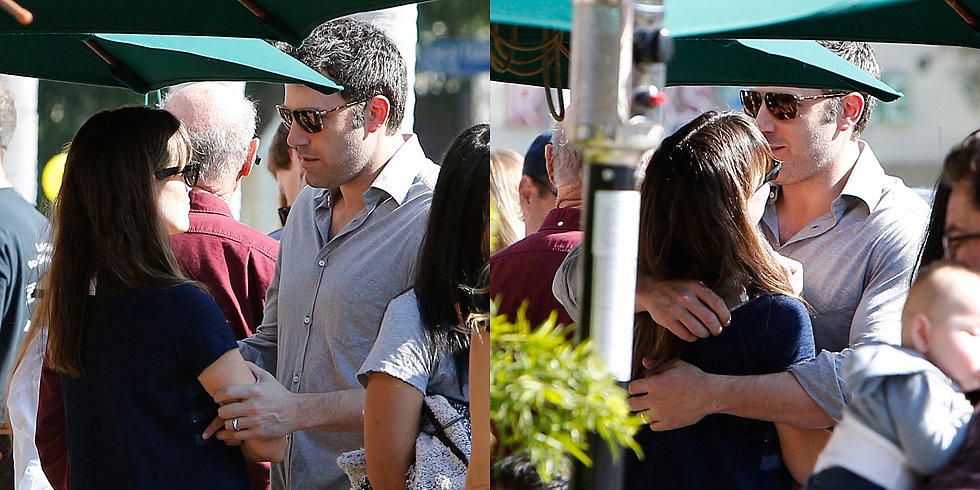 Ben Affleck Can't Keep His Hands Off of Jennifer Garner