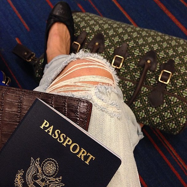 Clearly, Jamie Chung travels in style. Source: Instagram user jamiejchung