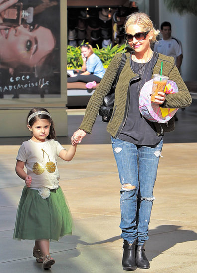 Sarah Michelle Gellar stepped out in LA for a birthday party with her daughter, Charlotte.