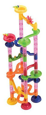 For 5-Year-Olds: Mega Marbles Marble Fun Run 80-Piece Set