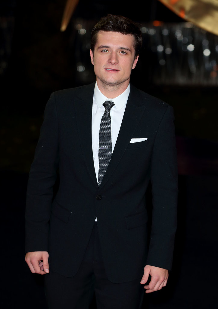 Josh Hutcherson attended the premiere in London.