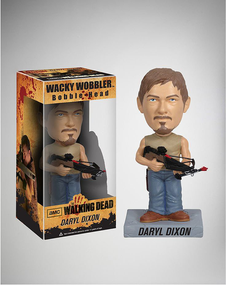 The Walking Dead Daryl Dixon Bobblehead ($15)