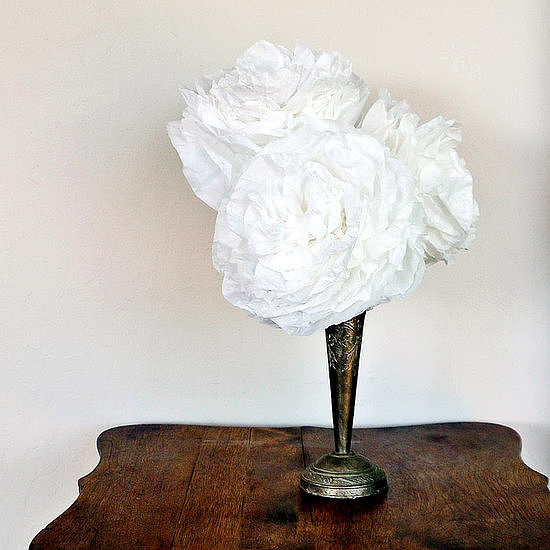 Coffee-Filter Peonies