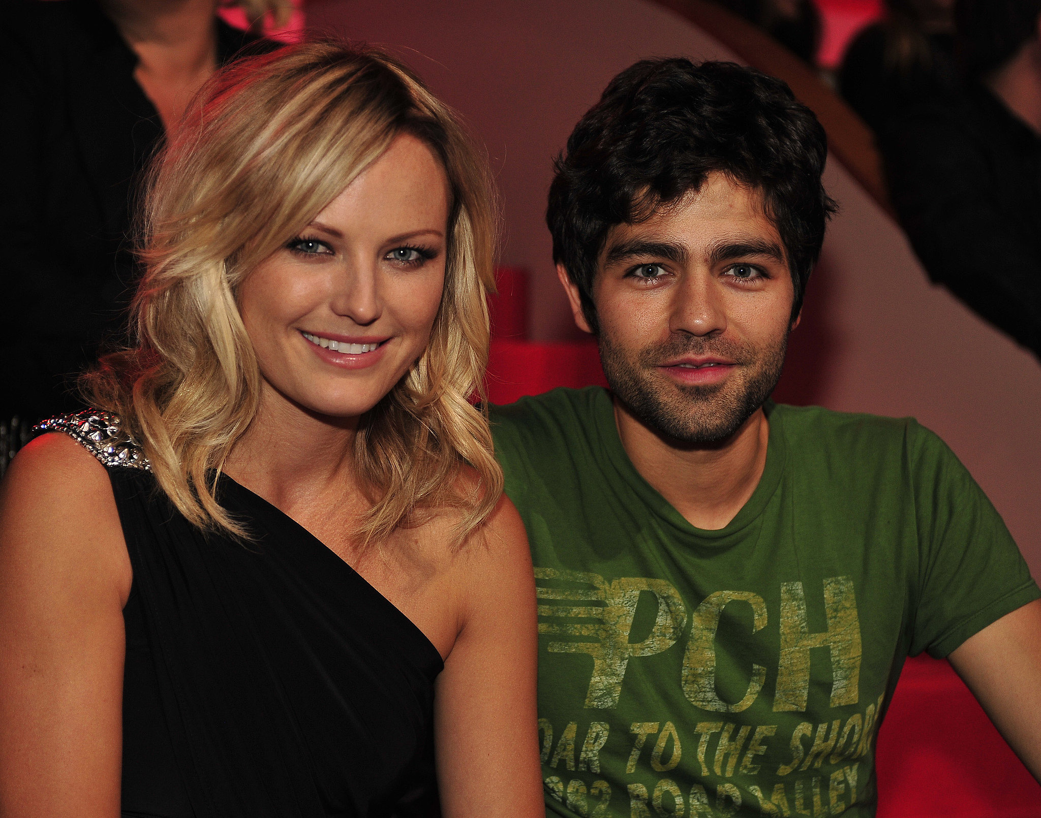Malin Akerman and Adrian Grenier hung out together at the 2010 show.