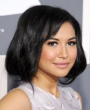 Naya Rivera's big bob is really easy to copy. Pull your hair back into a very loose ponytail and plait the lengths really loosely to keep them in place. Fold the plait up and under to create the bouncy bob, and add plenty of bobby pins to keep it secure and hidden.