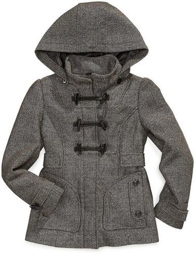 London Fog Kids Coat, Girls Toggle-Front Jacket
