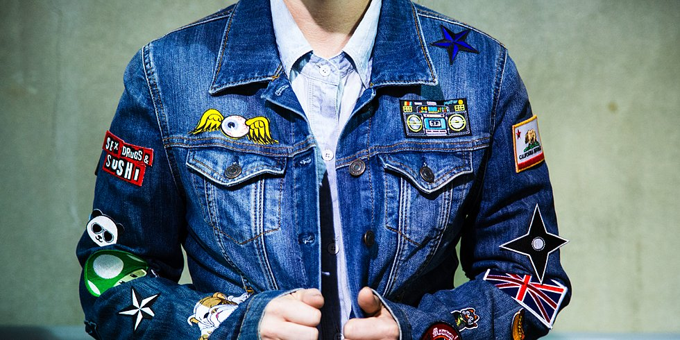 The '90s Are Calling! DIY Patched Jean Jacket