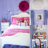 Pink, Purple, and Posh! A Stylish Big Girl's Room