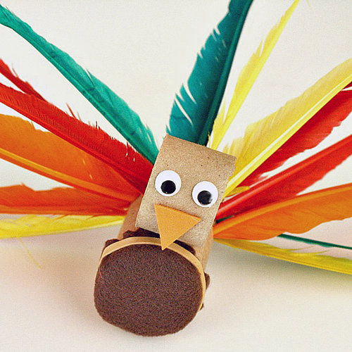 Thanksgiving Crafts Made From Paper