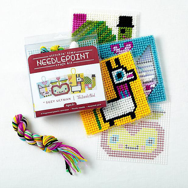 Stitchin' Time Needlepoint Kit