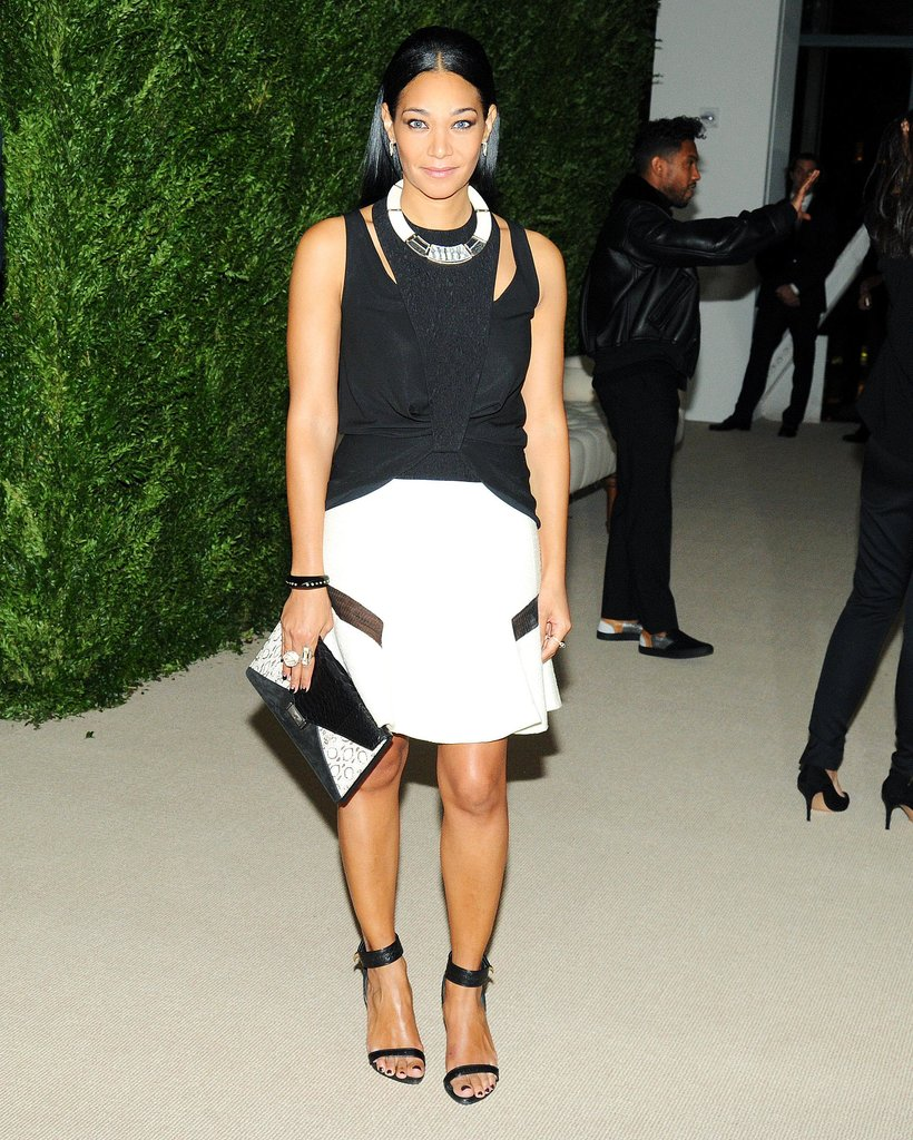 Monique Péan at the CFDA/Vogue Fashion Fund Awards.