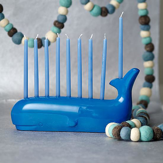 The Land of Nod Whale Menorah