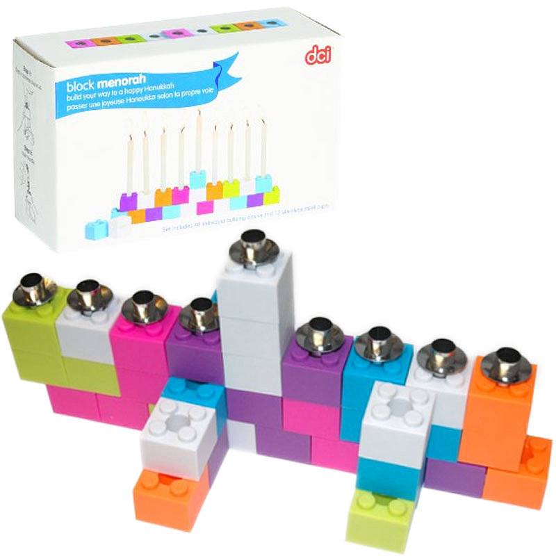 Building Blocks Menorah