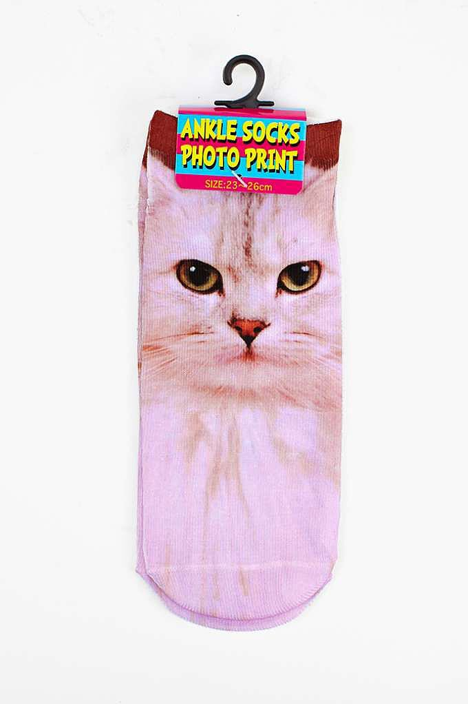 Cool Cat Ankle Socks ($5)