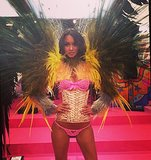 Proof that there's no such thing as too many feathers. Source: Instagram user laisribeiro16
