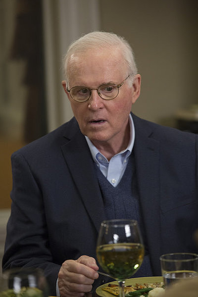 The Michael J. Fox Show Charles Grodin guest stars as Mike's dad.