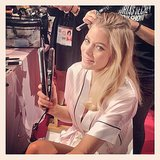 So that's how Doutzen gets those waves . . . with the GHD tri-zone styler! Source: Instagram user lauracarandini