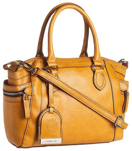 London Fog - Fielding Satchel (Mustard) - Bags and Luggage