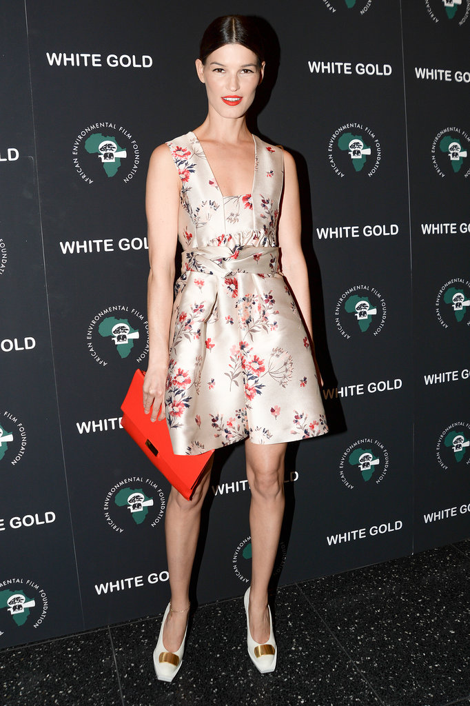 Hanneli Mustaparta at the African Environmental Film Foundation White Gold premiere.