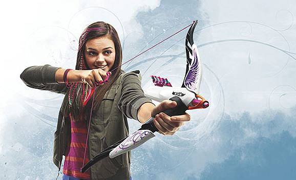 For 7-Year-Olds: Nerf Rebelle Heartbreaker Bow