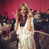 Peace, love, and Alessandra Ambrosio. Source: Instagram user matmazzafera