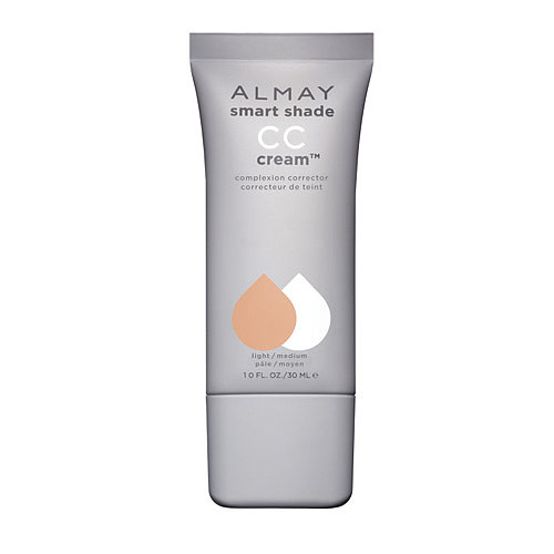 Almay Smart Shade CC Cream Complexion Corrector ($10) has just enough coverage to wear alone, but it also packs big skin care benefits, too.