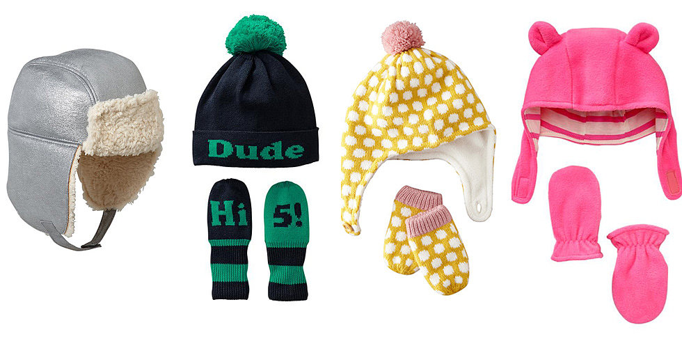 Warm Up in the Cutest Hats and Mittens For Minis