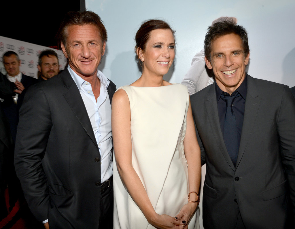 Sean Penn, Kristen Wiig, and Ben Stiller premiered The Secret Life of Walter Mitty at the AFI Film Festival in LA.