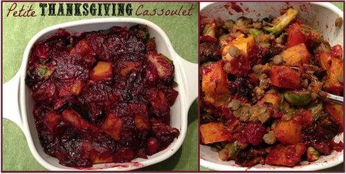 Petite Thanksgiving Cassoulet