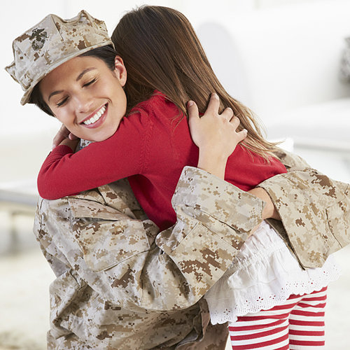 Military Mom and Daughter Reunite
