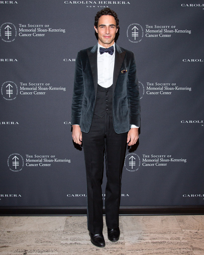 Zac Posen at The Society of Memorial Sloan-Kettering Cancer Center's Fall Party.