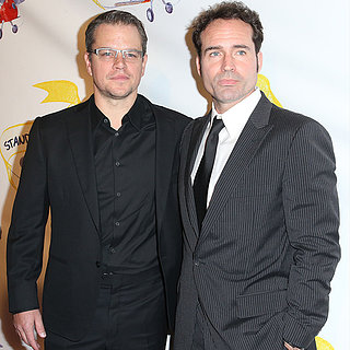 Matt Damon at Jason Patric's Stand Up For Gus Event