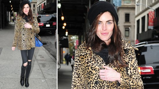 Hilary Rhoda Puts All Eyes on Her Engagement Ring