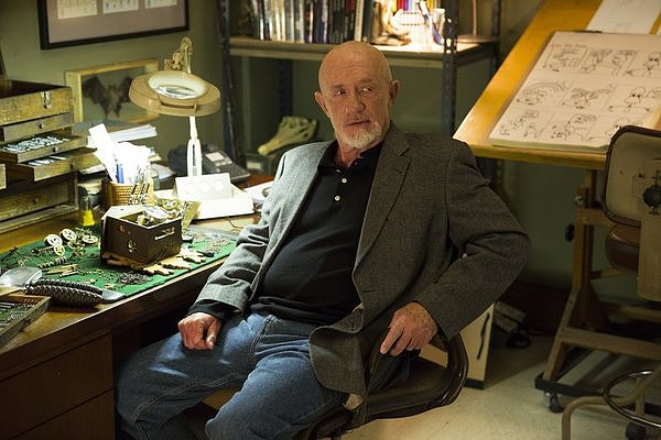 Jonathan Banks guest stars as Hickey on Community.