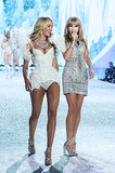 Candice Swanepoel with Taylor Swift.