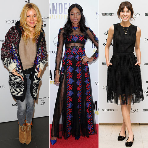 Best Dressed British Stars in November 2013